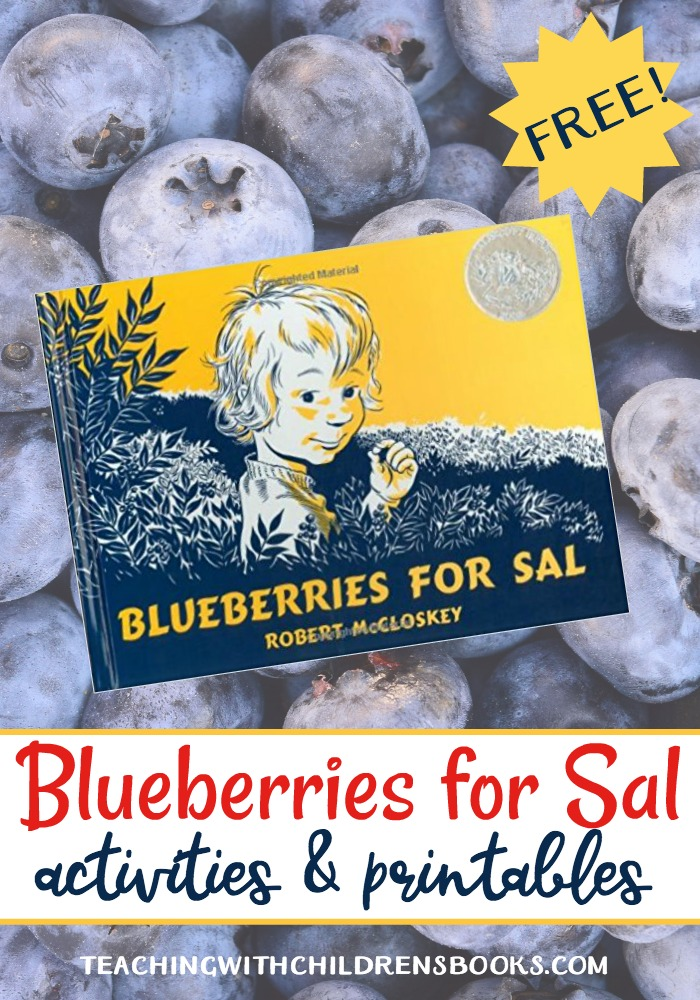 These Blueberries for Sal printables and activities are perfect for young readers! Discuss the letter B, bears, blueberries, and more with these activities.