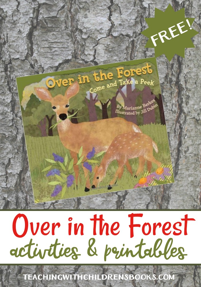 If you're teaching about forests and/or woodlands, you'll love the Over in the Forest activities and printables featured below.