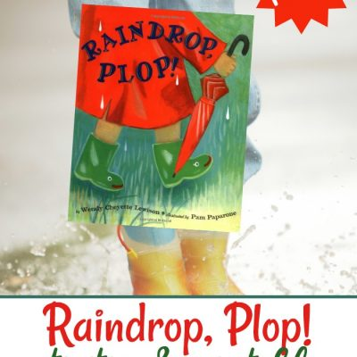Raindrop Plop Activities and Printables