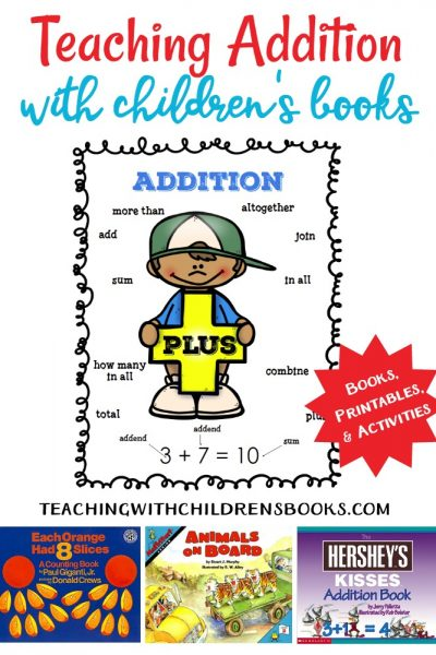 This wonderful collection will help you teach addition with picture books.Using picture books to show how math works in real life is great motivation!