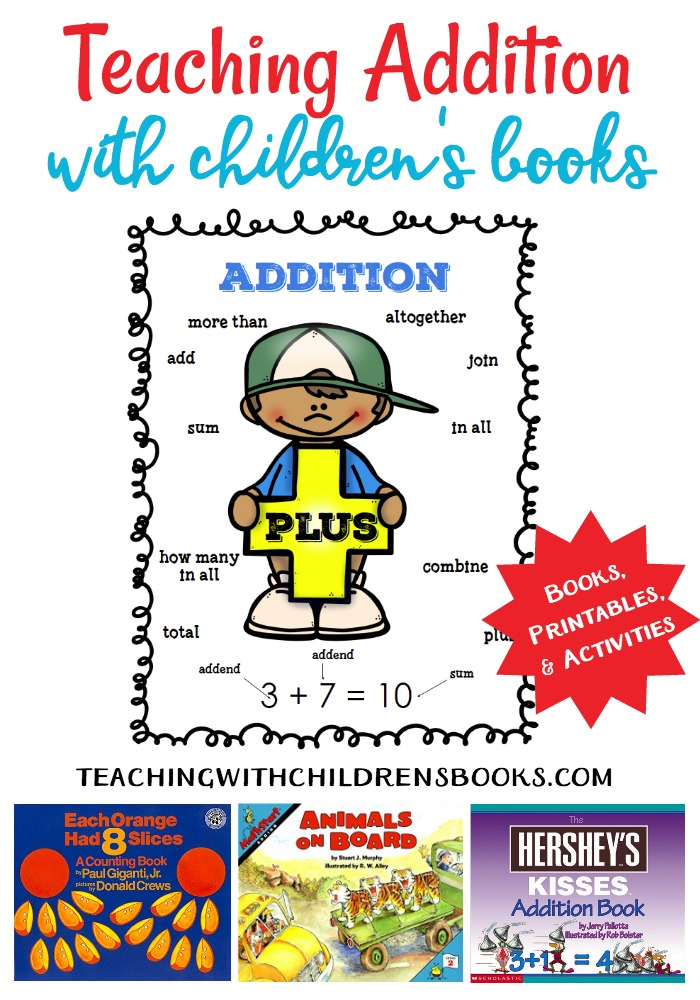 This wonderful collection will help you teach addition with picture books. Using picture books to show how math works in real life is great motivation!