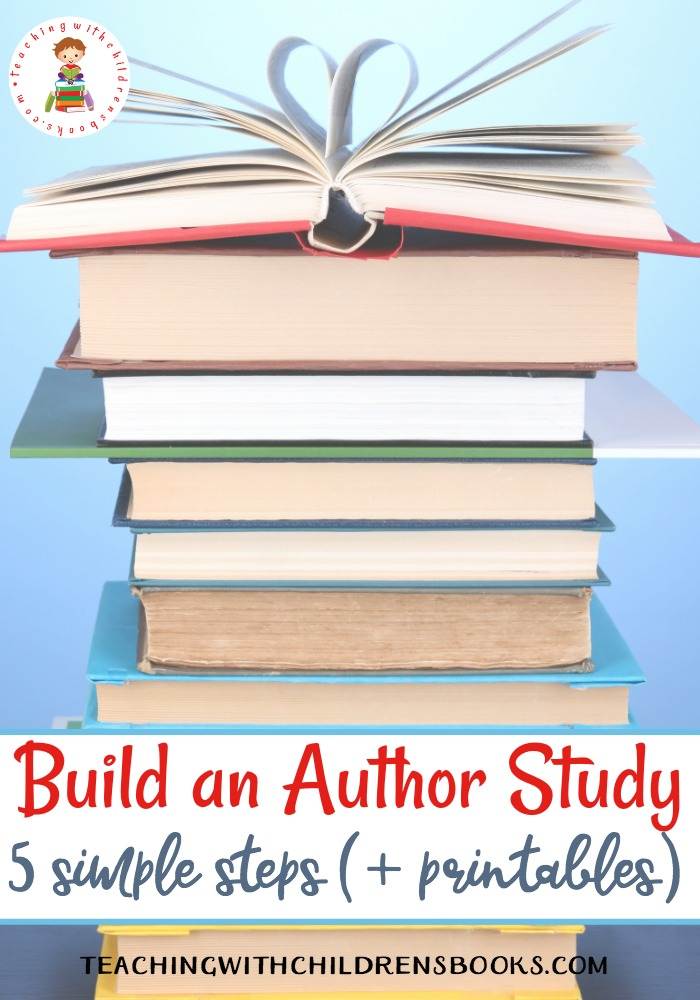 Encourage kids to explore now authors and books when you build an author study. Discover five tips for building an author study in your classroom.