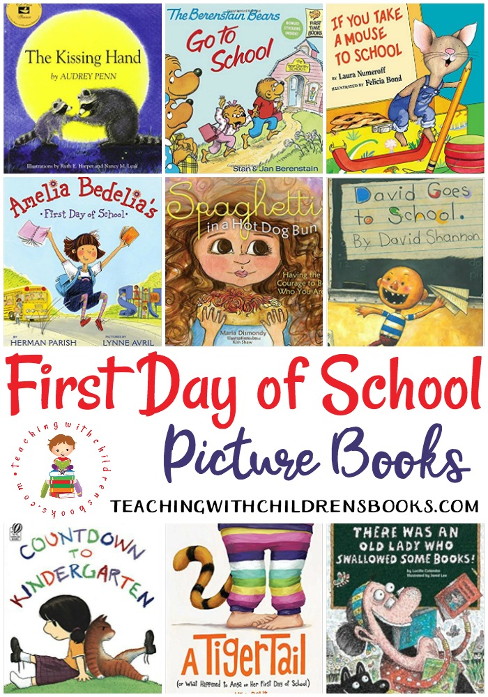 Kids may be a little apprehensive about the start of a new school year. Ease the transition of a new school year with these first day of school books!