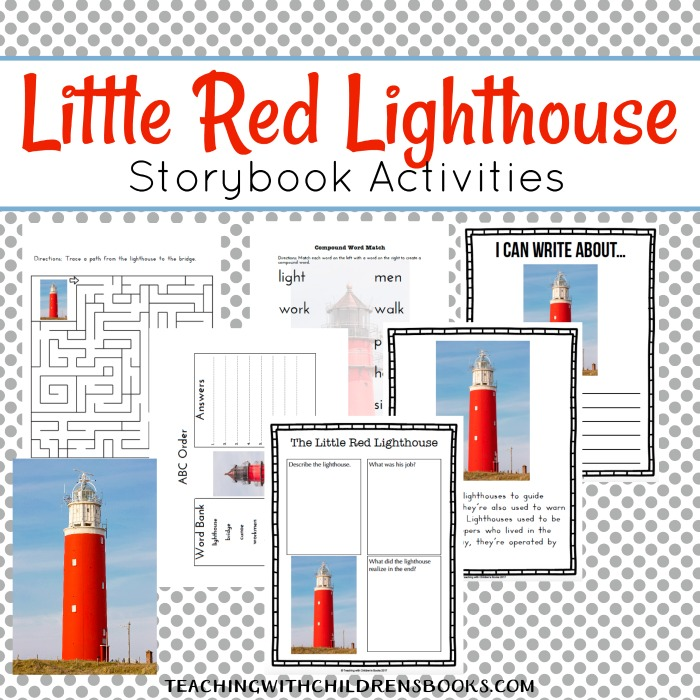 Discover a great collection of go-alongs, printables, and resources for The Little Red Lighthouse and the Great Gray Bridge.
