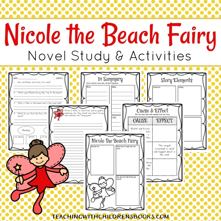 Join Kirsty, Rachel, and Nicole, a Rainbow Magic Fairy, as they go on an adventure to clean up Rainspell Island and save it from Jack Frost and his goblins.