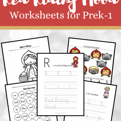 Little Red Riding Hood Worksheets