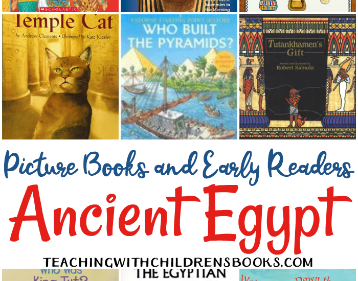 Looking for some great books about Ancient Egypt? Check out this living books list that is full of picture books and early chapter books for kids.