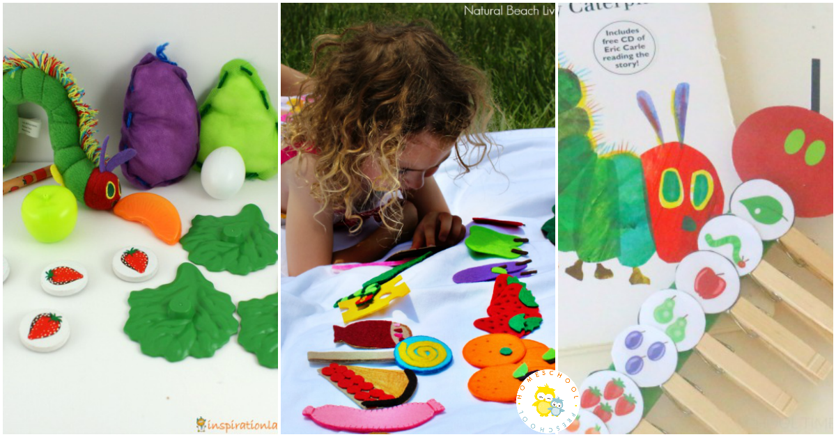 There Are So Many Lessons And Skills To Go Along With The Very Hungry Caterpillar