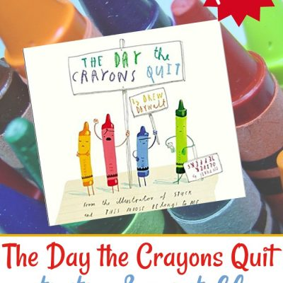 The Day the Crayons Quit Book-Based Activities