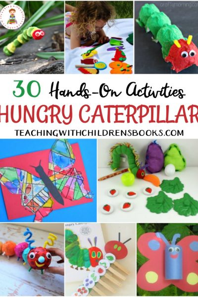 There are so many lessons and skills to go along with TheVery Hungry Caterpillar! These Very Hungry Caterpillar activities are a great place to start!