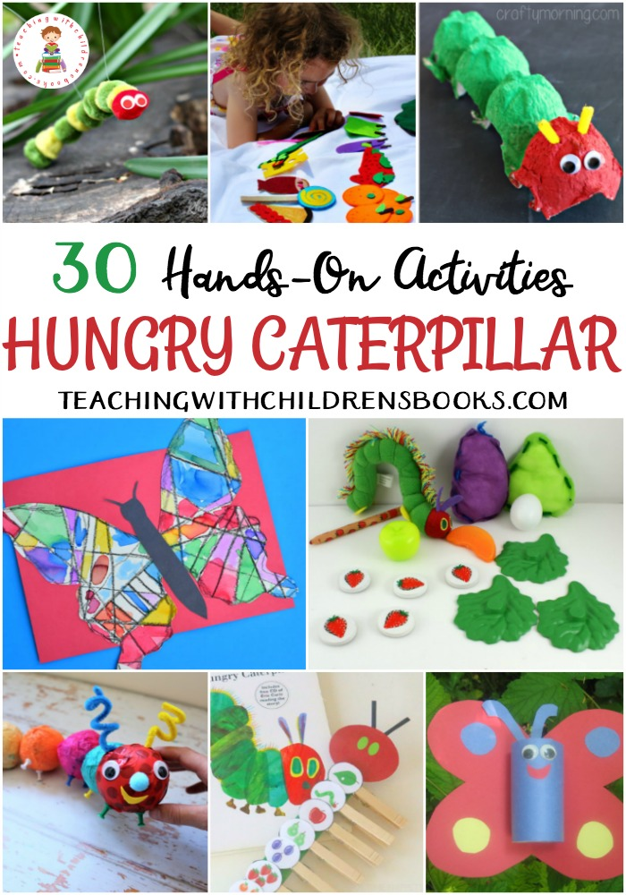 picture relating to Very Hungry Caterpillar Printable Activities titled 30 Extremely Hungry Caterpillar Things to do and Crafts for Children
