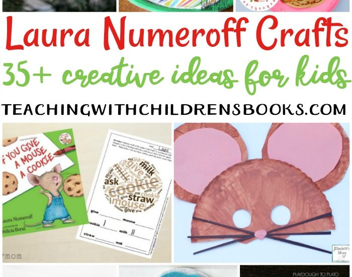 Whether you're reading about the mouse, the dog, the moose, or the cat, here are some Laura Numeroff crafts that make great follow-up activities to her books.