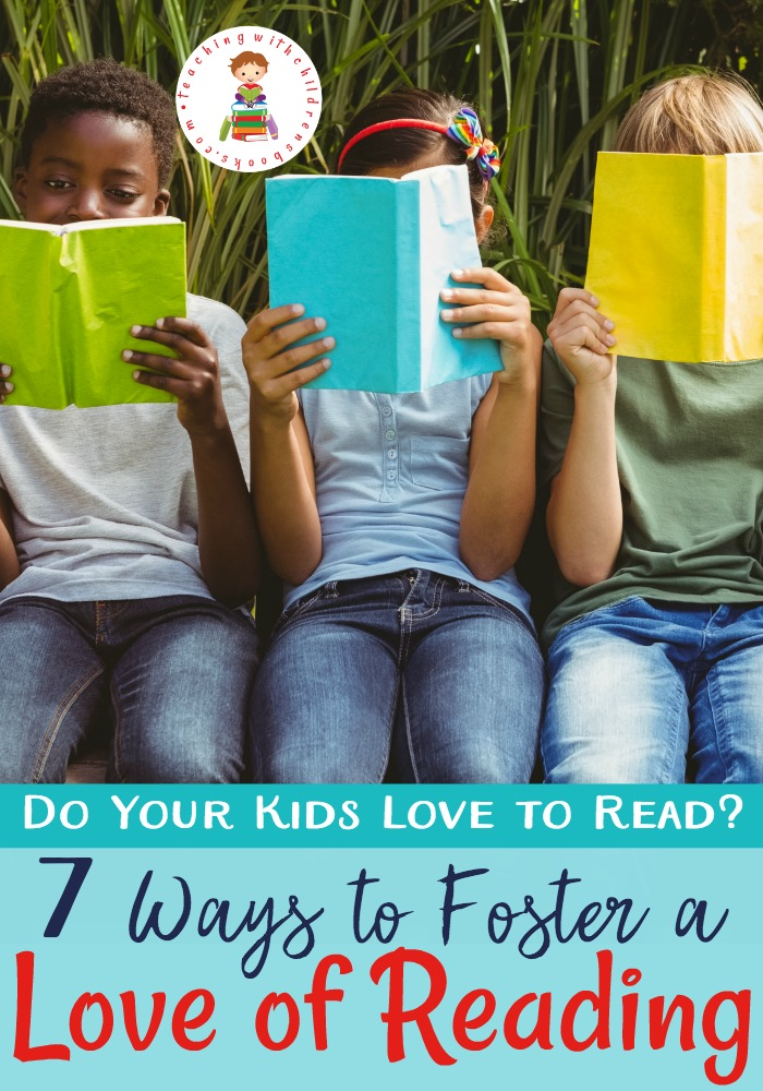 I've always loved to read, and I always hoped my kids would, too. So, I was intentional in trying to foster a love of reading in them!
