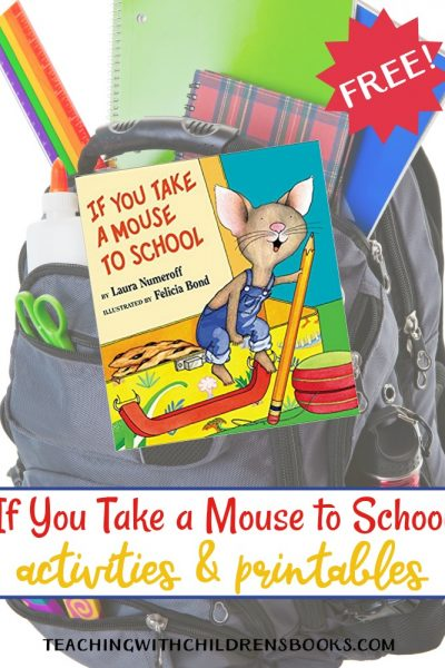 If You Take a Mouse to School Printables