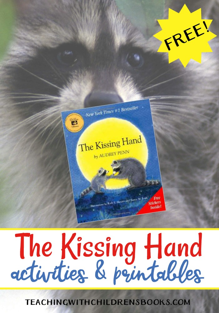 image relating to Kissing Hand Printable known as The Kissing Hand Actions and Printables for Back again in direction of College