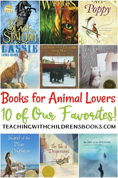Whether it's non-fiction readers about animals or chapter books with animal characters, here are a few of our favorite chapter books about for animal lovers.