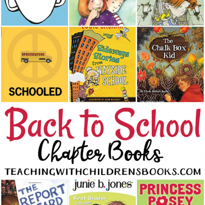 21 Engaging Back to School Chapter Books