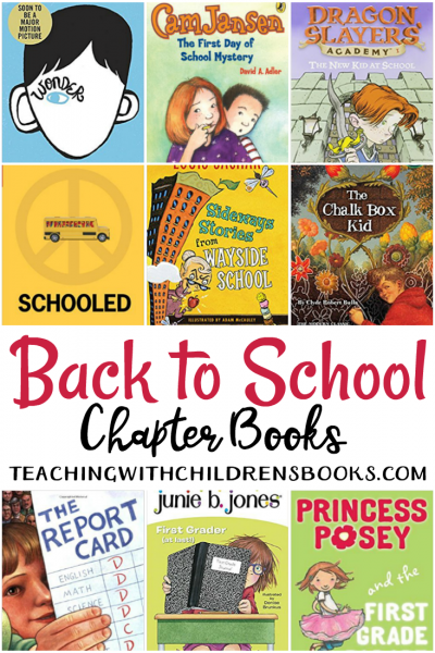 Kick off a brand new school year with a collection of engaging back to school chapter books. This collection is the perfect place to start!
