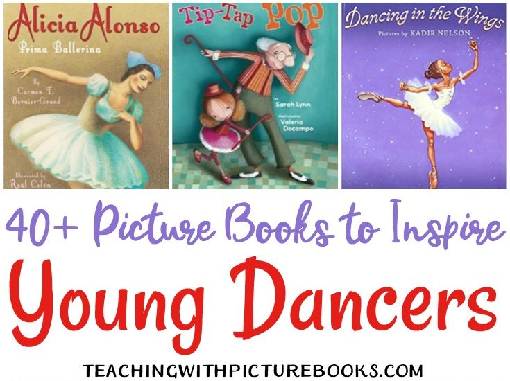 Have a little dancer or a little one who would enjoy reading about dance? I've compiled a great list of dance-themed picture books for young dancers.
