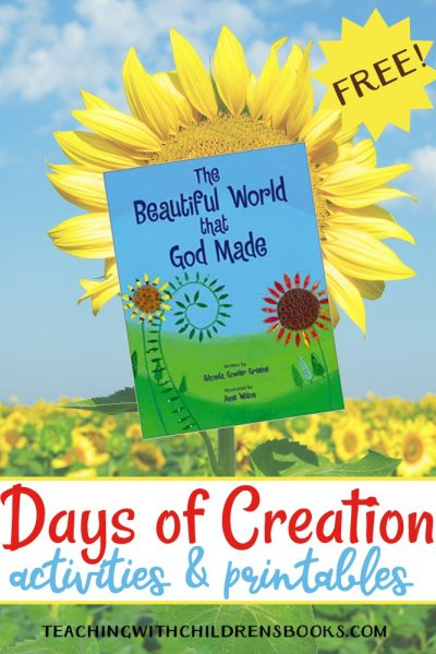 Whether you're teaching Creation in your homeschool, your Sunday school, or classroom, these Days of Creation activities and printables are just what you need!