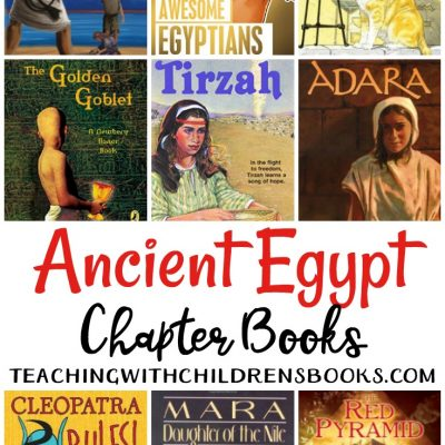 15 Ancient Egypt Chapter Books for Older Readers