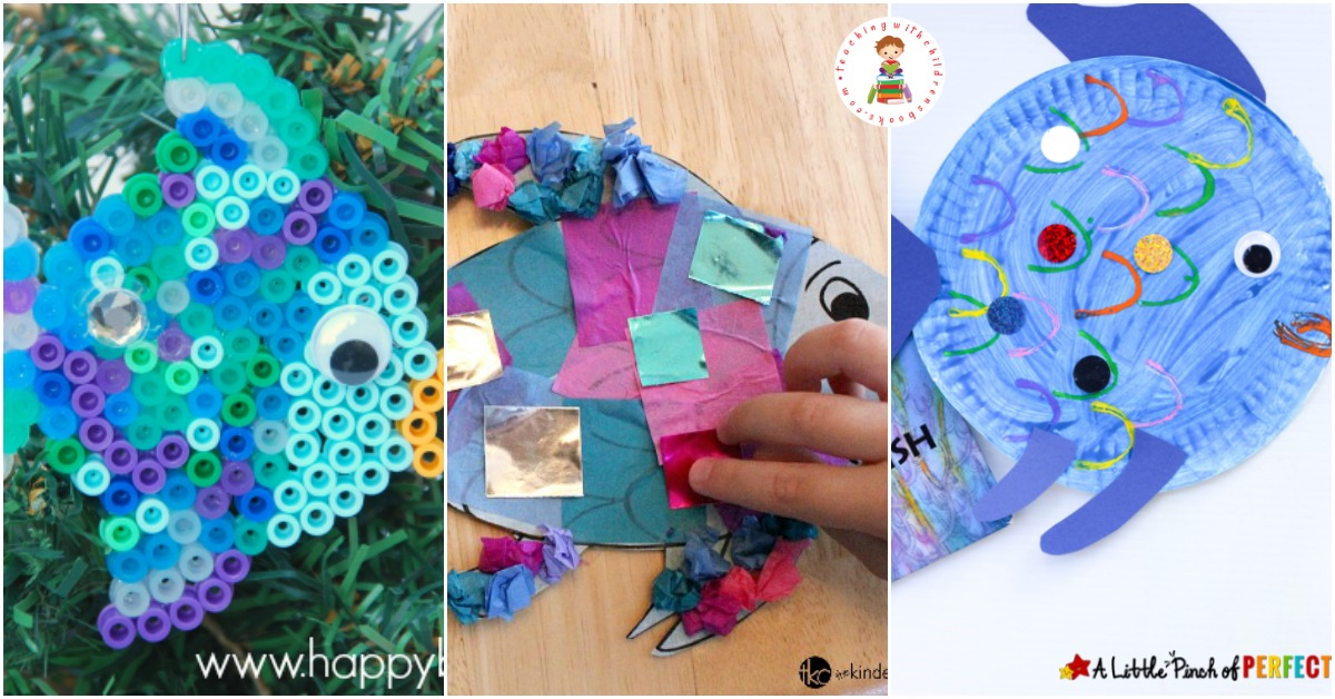 20 Of The Very Best Rainbow Fish Crafts For Kids Of All Ages