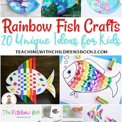 20 of the Very Best Rainbow Fish Crafts for Kids