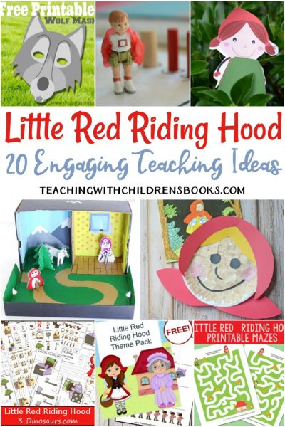 20 Engaging Little Red Riding Hood Teaching Ideas
