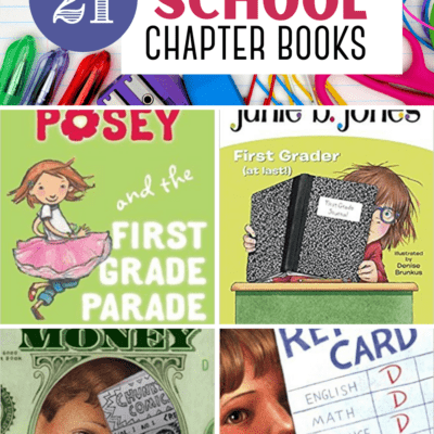 Back to School Chapter Books