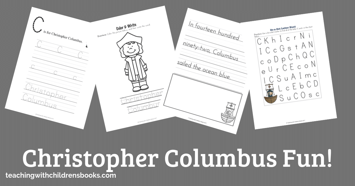 In fourteen hundred ninety-two, Columbus sailed the ocean blue. These Christopher Columbus activities and resources will help you celebrate Columbus Day!