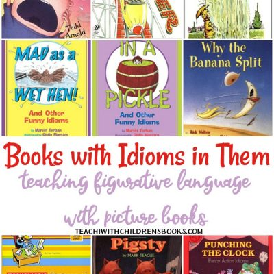 21 Funny Picture Books with Idioms in Them