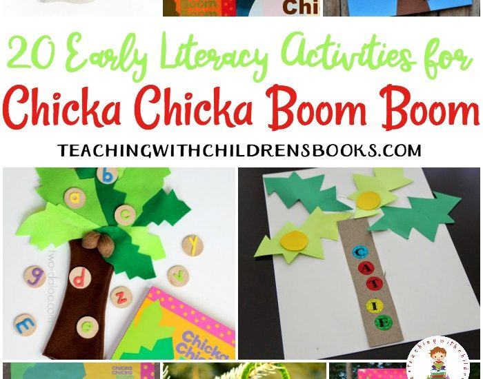 Twenty engaging Chicka Chicka Boom Boom activities, crafts, and more! Perfect for preschool and kindergarten. Early literacy fun!