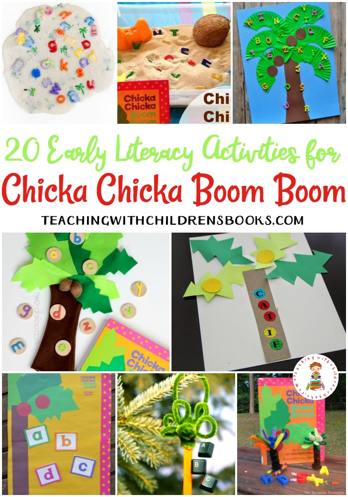 picture regarding Chicka Chicka Boom Boom Printable Book identify 20 Chicka Chicka Growth Increase Things to do and Crafts
