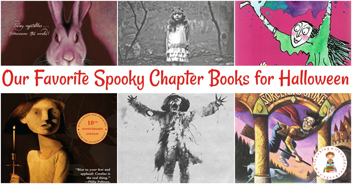 Some kids love to get a little spooky in October as Halloween approaches. They can do that with this great collection of Halloween chapter books.
