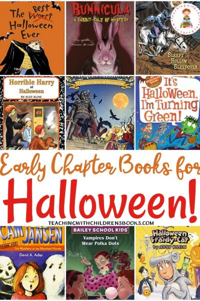 30 Halloween Chapter Books for Young Readers