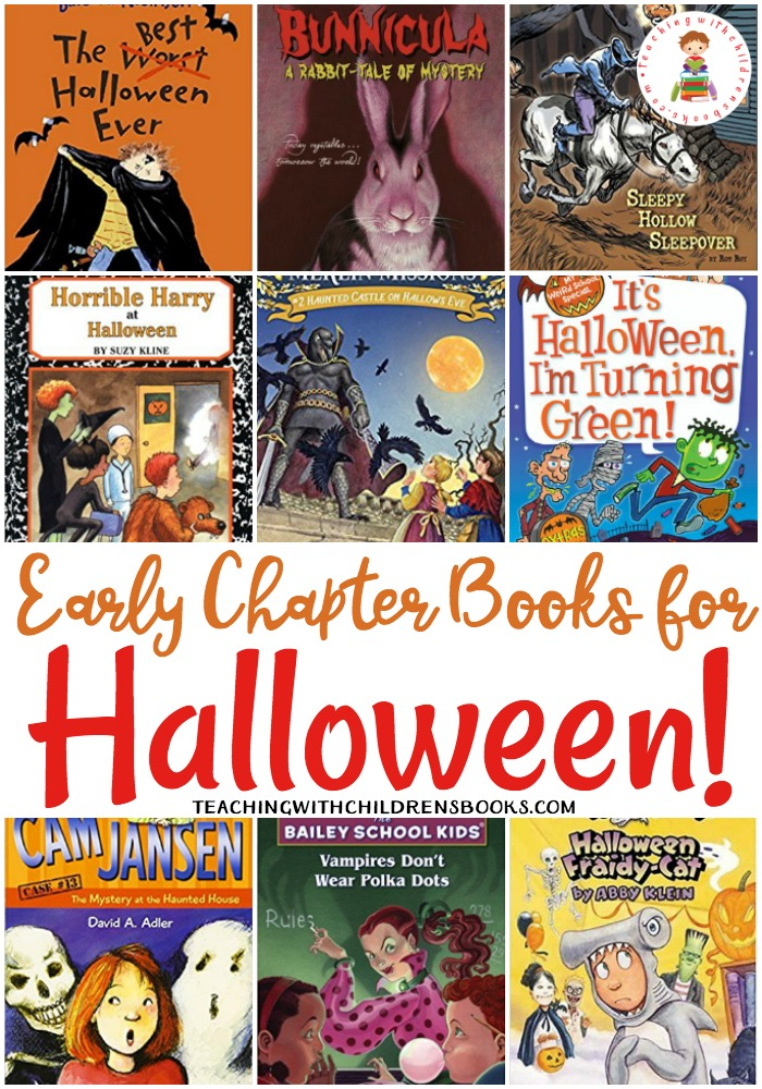This collection of Halloween early chapter books is perfect for early readers. Kids will love being able to read these early chapter books all on their own!