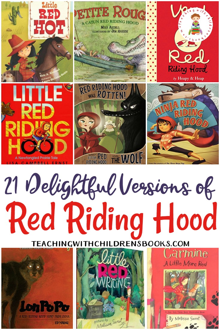 These versions of Little Red Riding Hood from around the world are perfect for comparing and contrasting story elements and cultures.