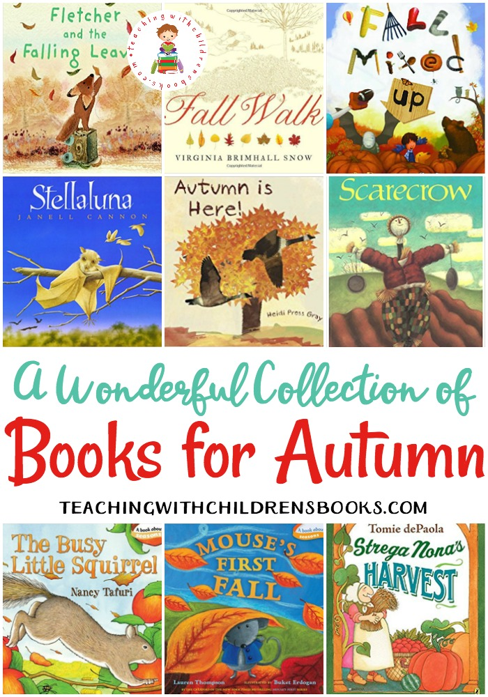 I love that autumn has arrived! The leaves are changing and the temperature is dropping. It's the perfect time to curl up with some great picture books for autumn!