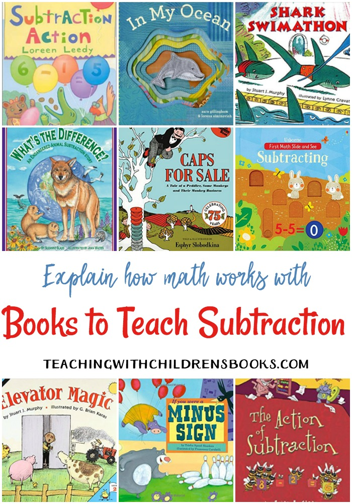 One of my favorite ways to keep math fun is to incorporate storybooks into math lessons. I love this list of living math books to teach kids subtraction!