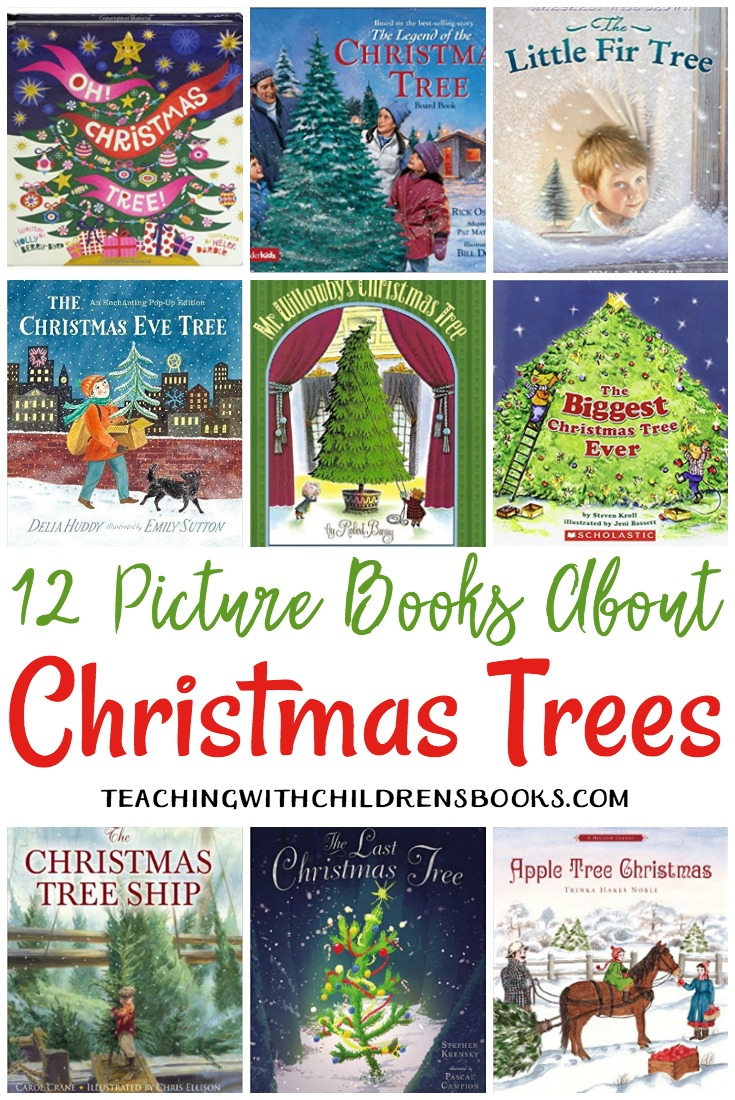Fill your holiday book basket with this collection of picture books about Christmas trees.