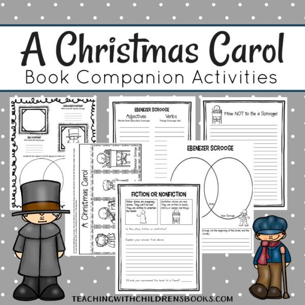 Kick off your holiday lessons with this fun A Christmas Carol unit study. You'll find printables, hands-on activities, and much more!