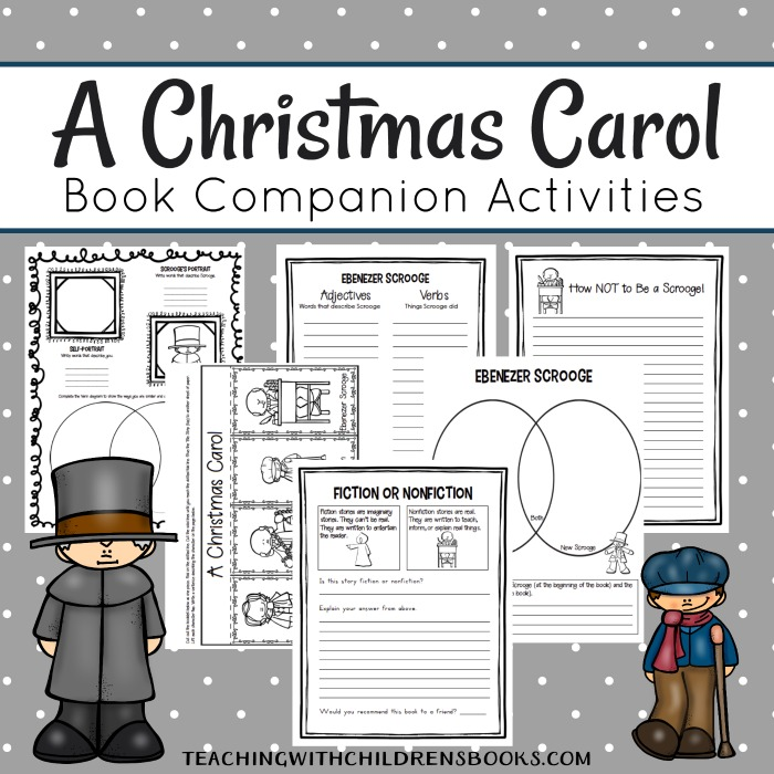 12 Best A Christmas Carol Images On Pinterest: Printable A Christmas Carol Unit Study Resources {Scrooge}