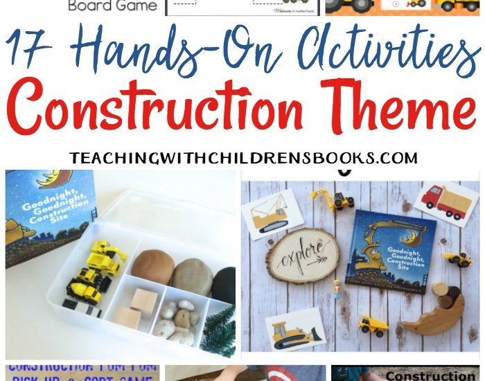 These Goodnight, Goodnight Construction Site activities are perfect for young learners! Sensory play, printables, counting practice, and more!