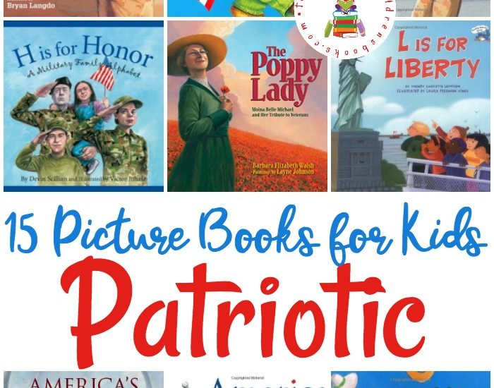 Veteran's Day is next week. Celebrate our veterans and our country with this wonderful collection of patriotic picture books for Veteran's Day and beyond.