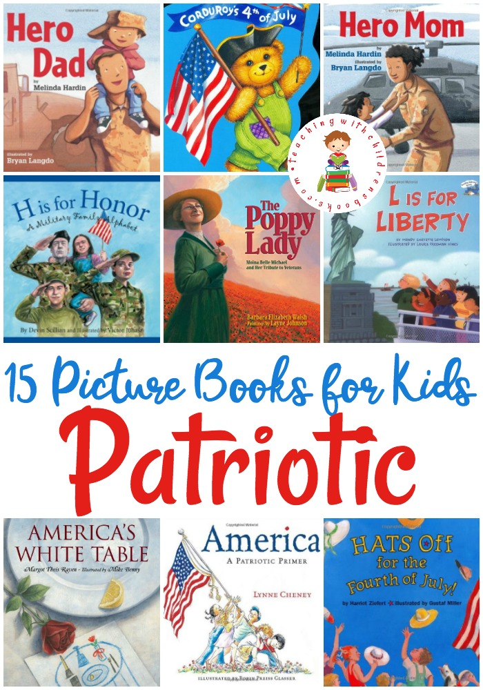 15 Patriotic Picture Books For Veteran S Day And Beyond