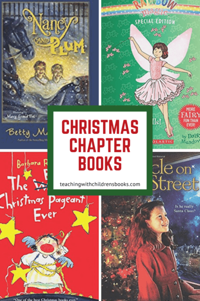 Whether you're filling your child's book basket or choosing your next read-aloud, here's a list of Christmas chapter books for the whole family!