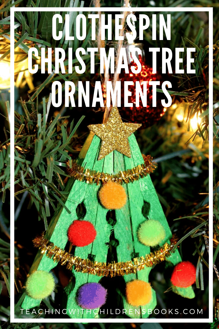 I have such fond memories of making ornaments with my kids when they were younger. This clothespin Christmas tree ornament will look lovely hanging on yours!