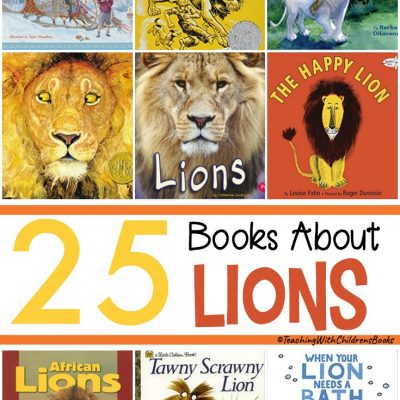 25 Children's Books About Lions
