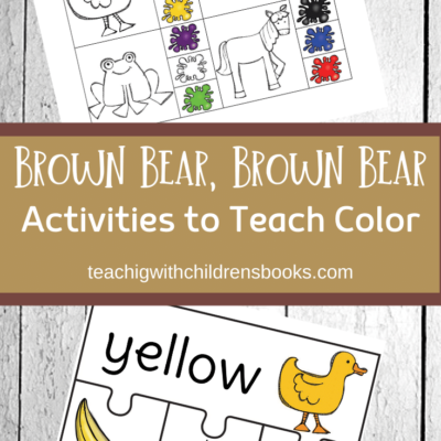 Learning Colors with Brown Bear Brown Bear Activities
