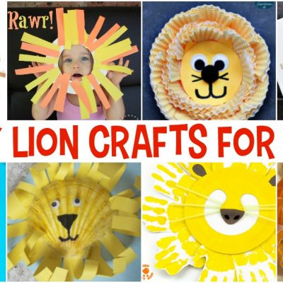 Easy Lion Crafts for Kids That Go With Any Book
